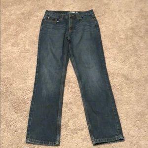 Medium wash boys Nautica jeans